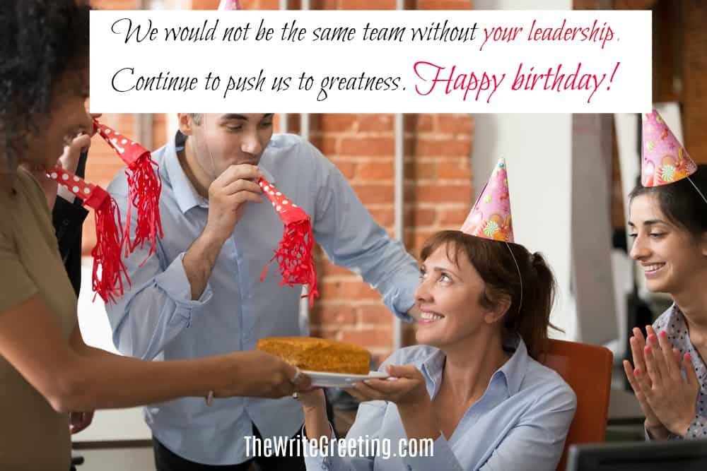 Professional Birthday wishes for your bossofessional birt
