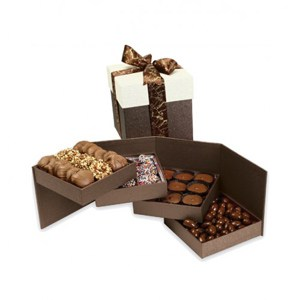 tower of chocolates birthday gift for lover