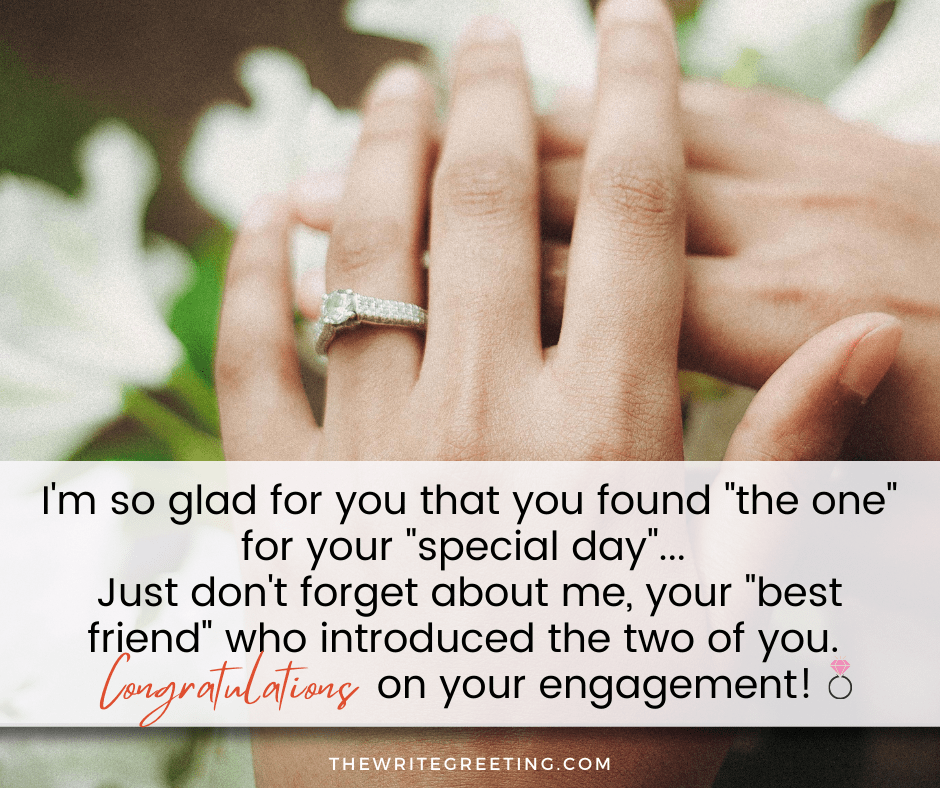 engagement rings on hands