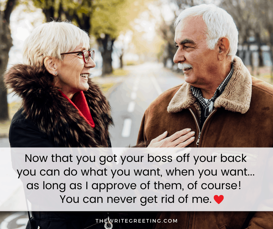 older couple enjoying retirement