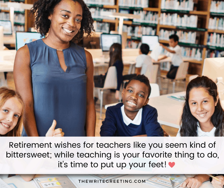 African American teacher with her students