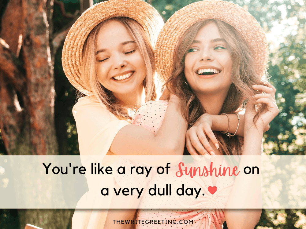 cute young girls with hats laughing