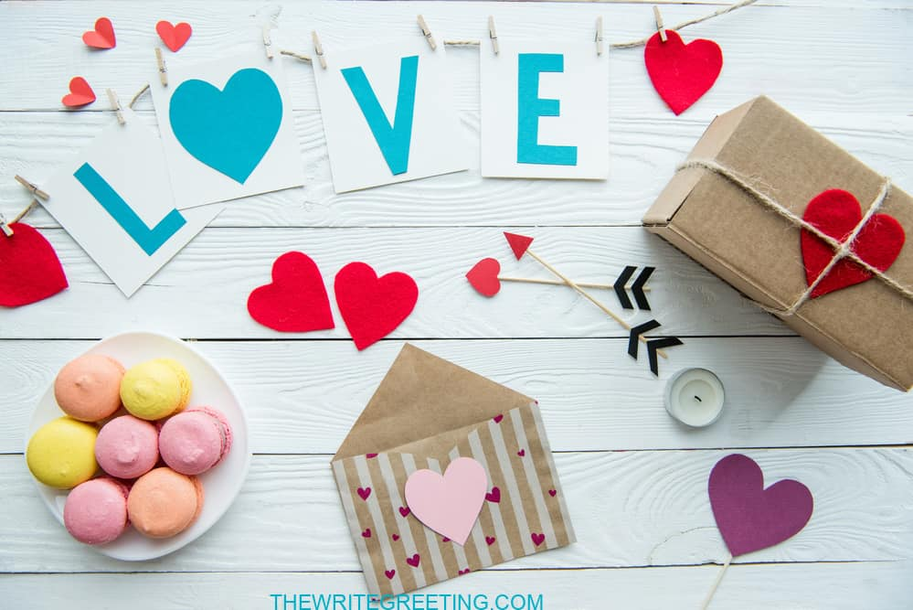 Love signs and hearts for Valentines day