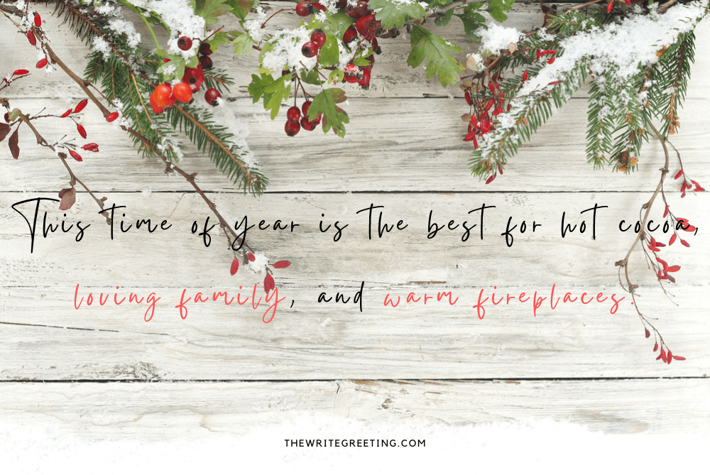 Word written on Christmas background