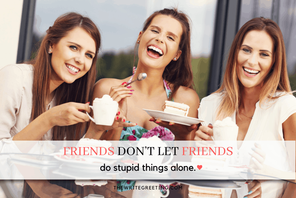 Best girlfriends laughing at coffee